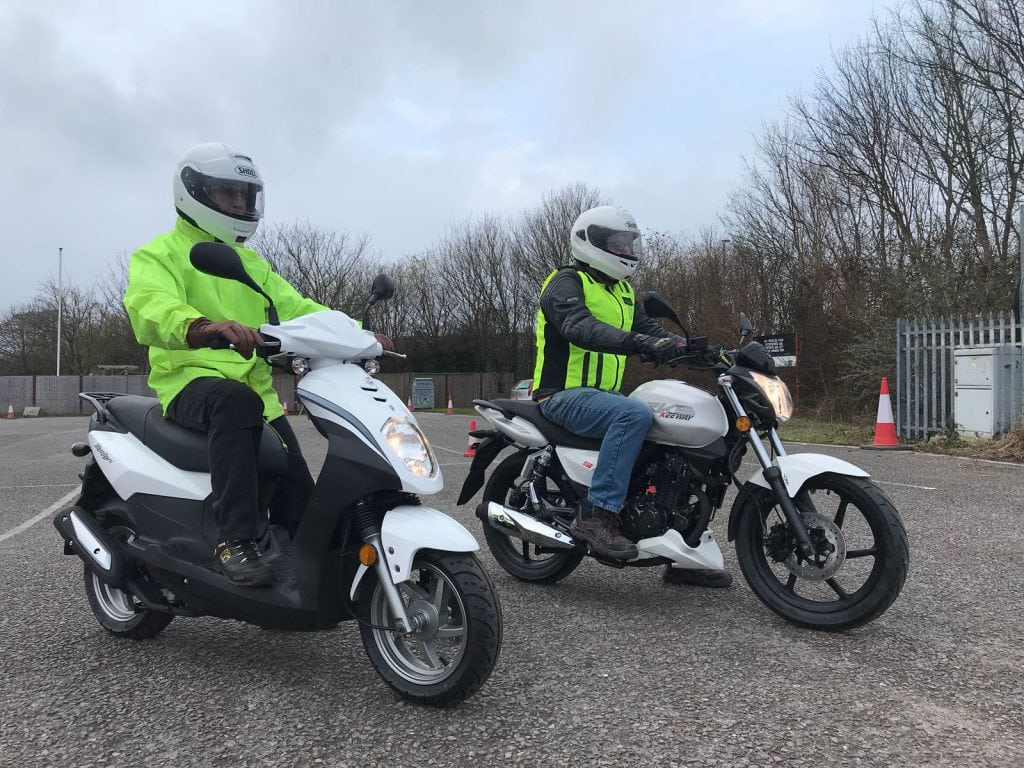 CBT Moped Training in Bridgwater, Somerset