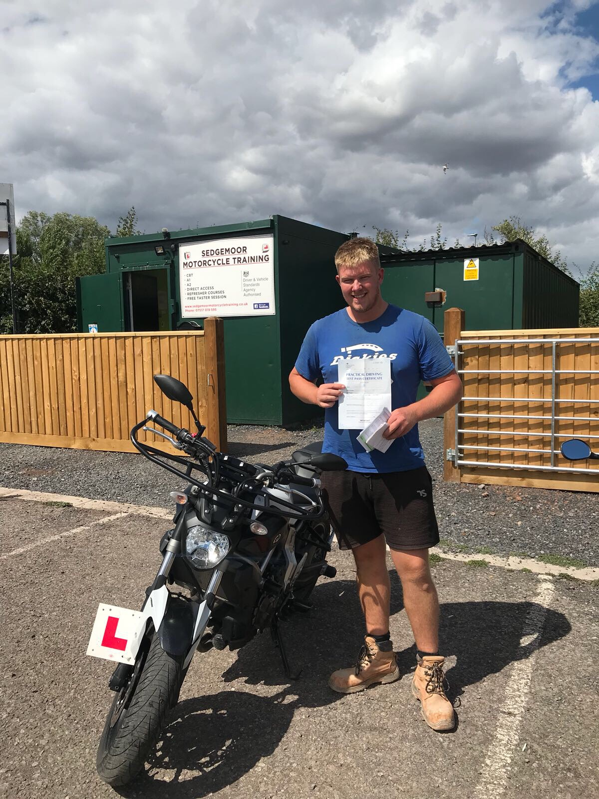 CBT and DAS success at our motorcycle training centre in bridgwater, somerset