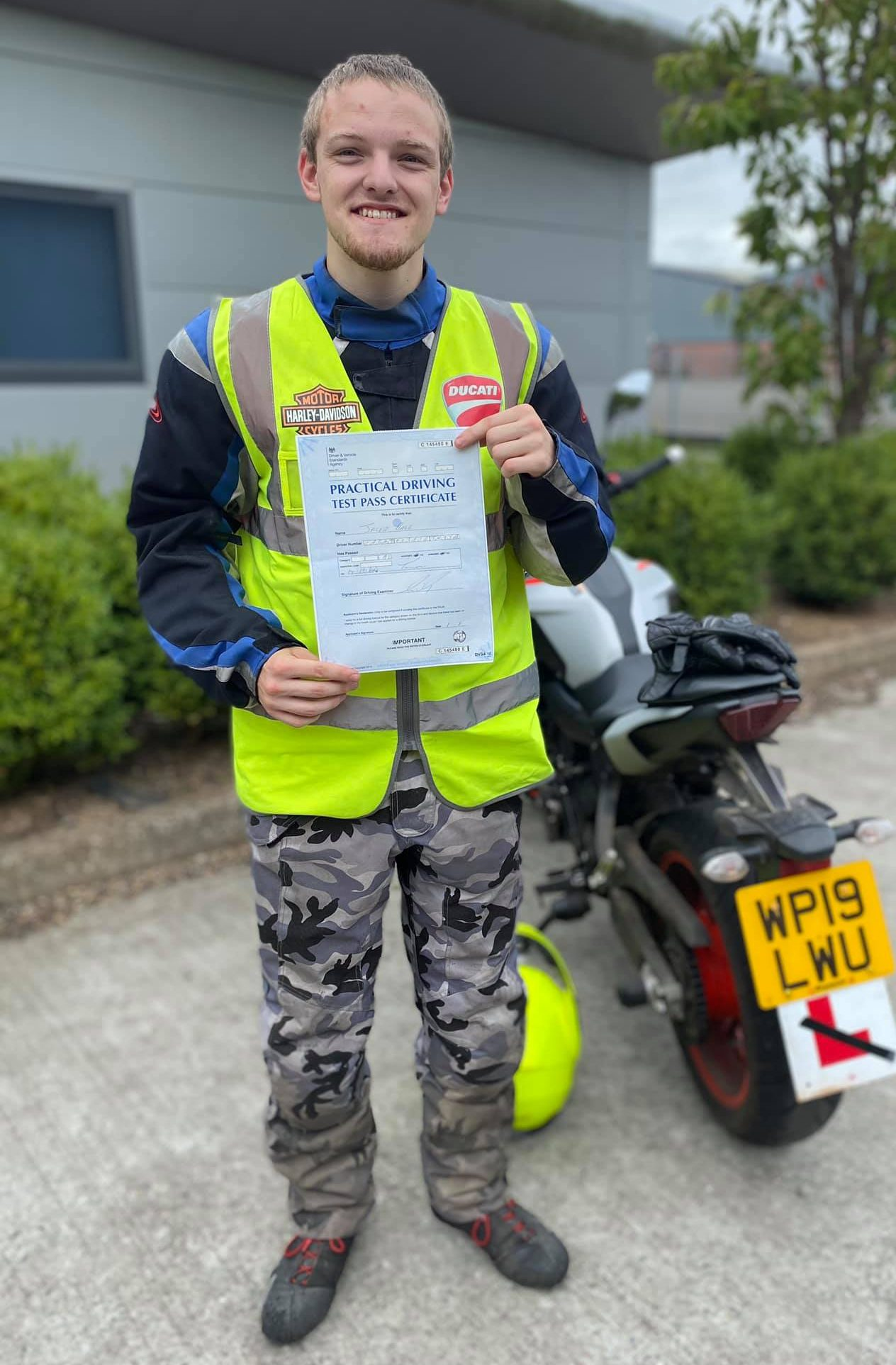 A2 Module 2 Pass for Jacob From Westonzoyland