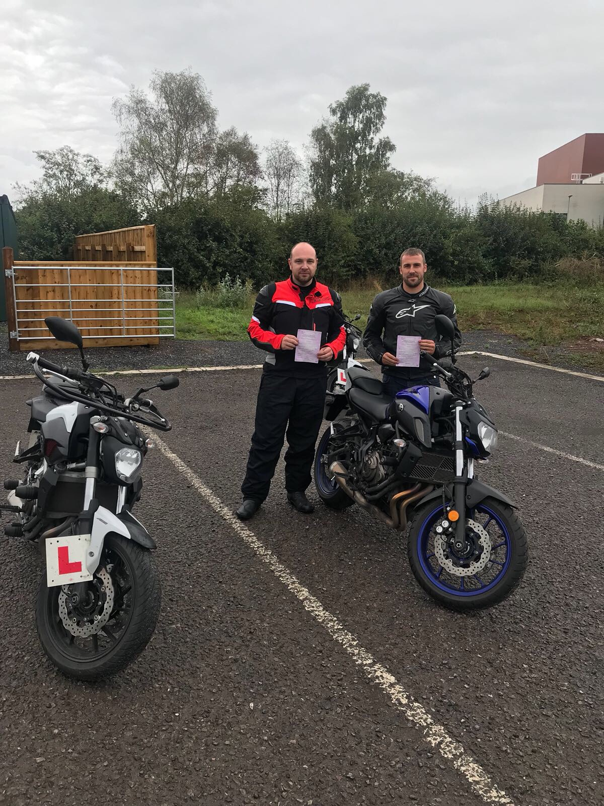 CBT and DAS success for riders in Bridgwater Somerset