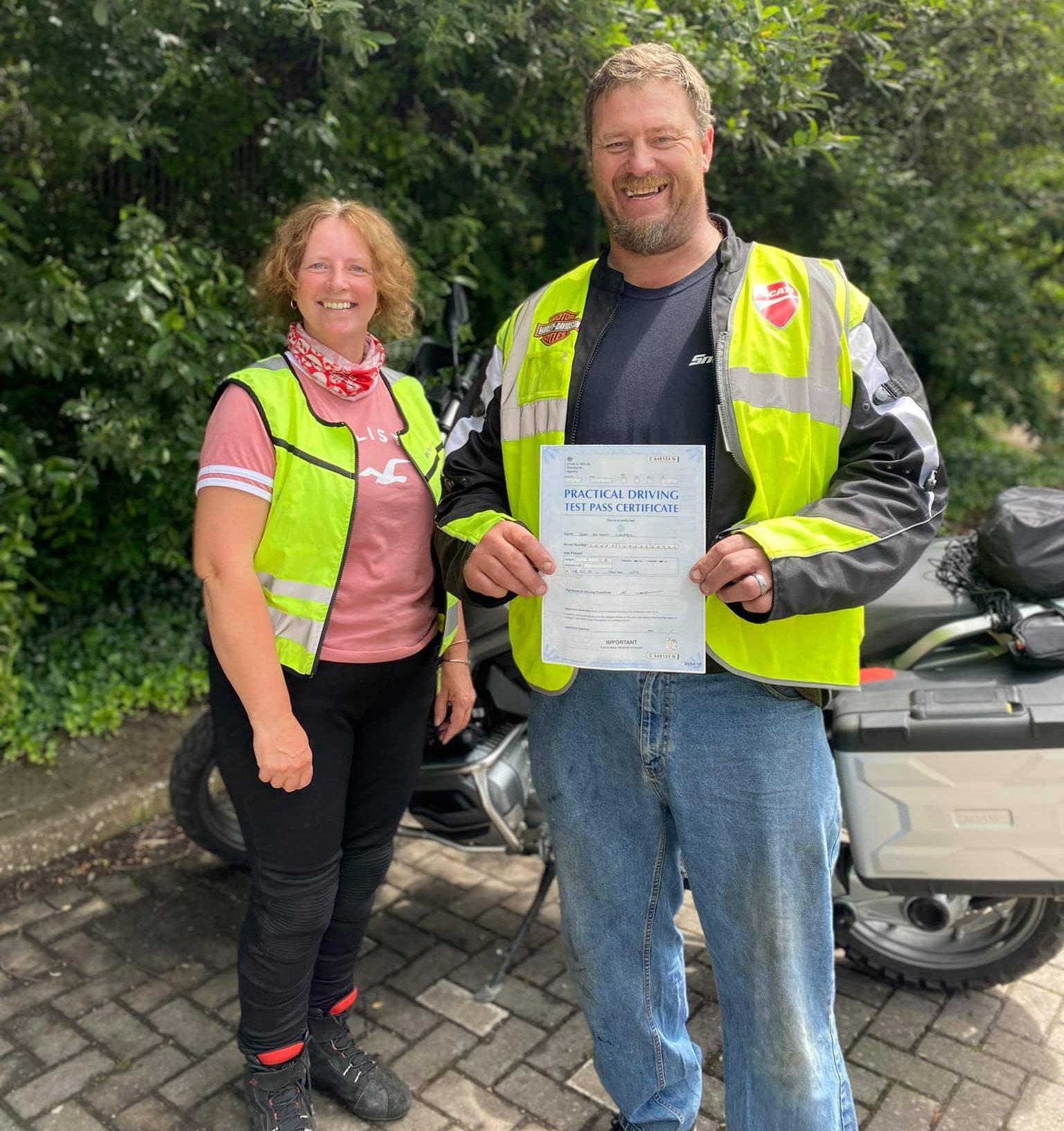 bridgwater motorbike success