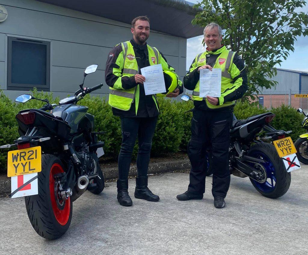 sedgemoor motorcycle training passes