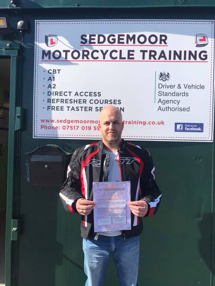 Compulsory Basic Training Completed for Customer from Burnham-on-Sea, Somerset