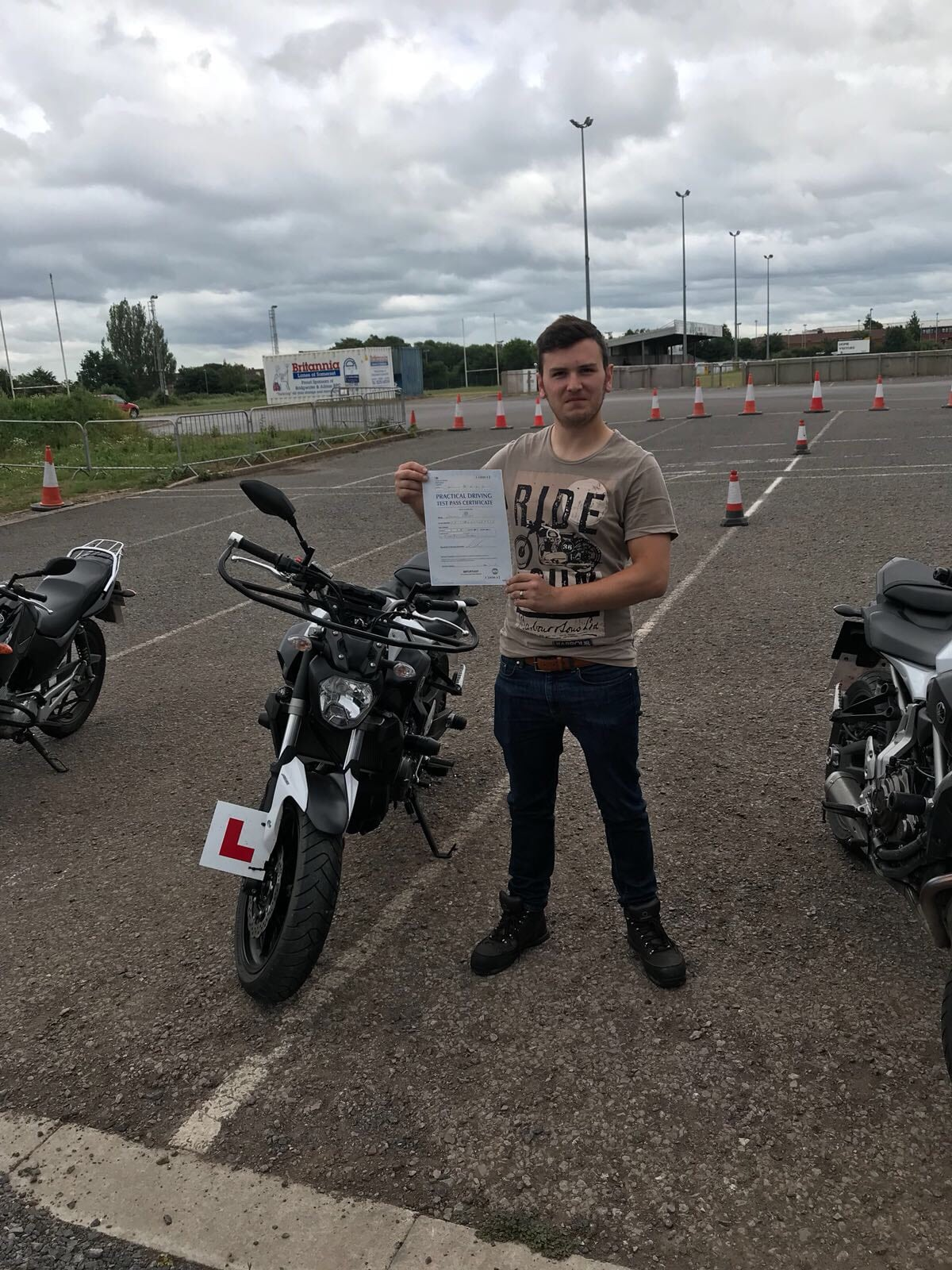 Sedgemoor Motorcycle Training success