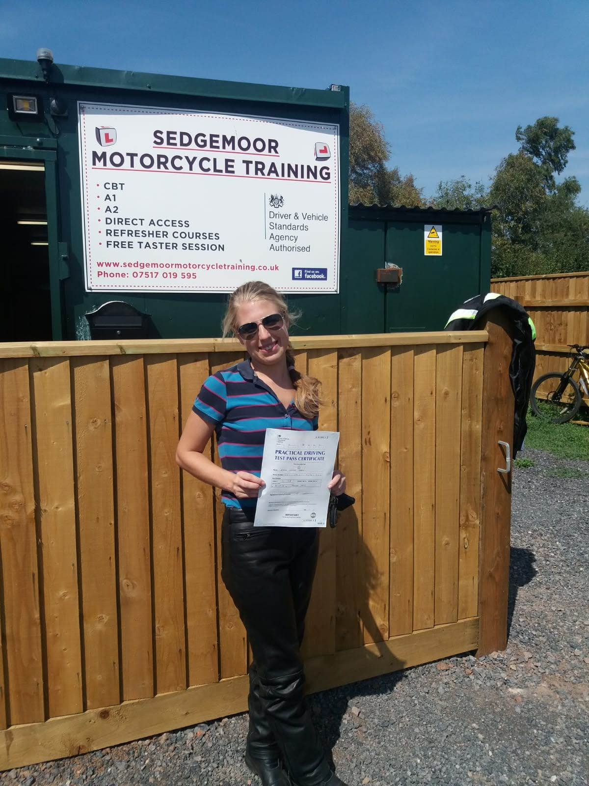 DAS Mod 1 Pass Emma from Ashcott in Somerset