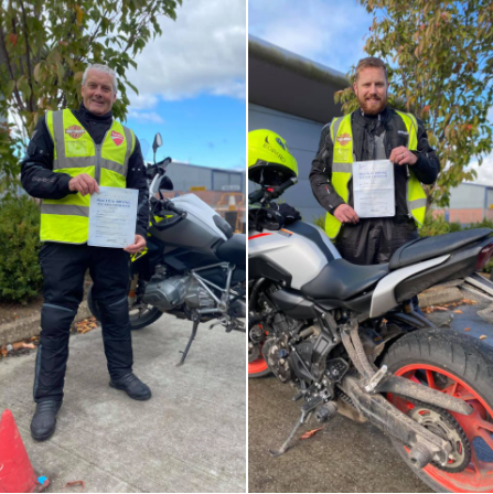 DAS Test Passes for Porlock & Bridgwater Riders