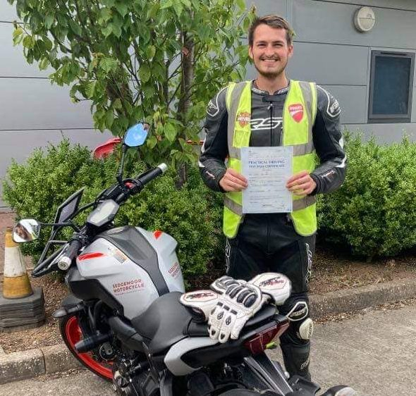 Dom is Happy After DAS Mod 2 Pass