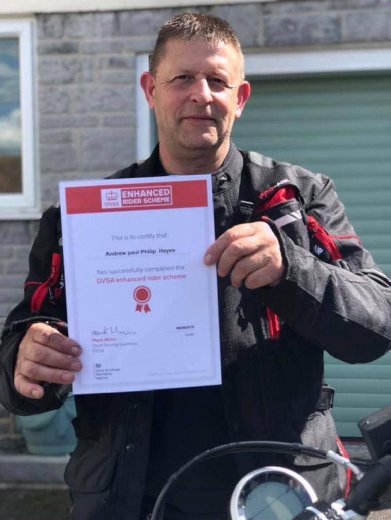 ERS Enhanced Rider Scheme Training in Bridgwater, Somerset