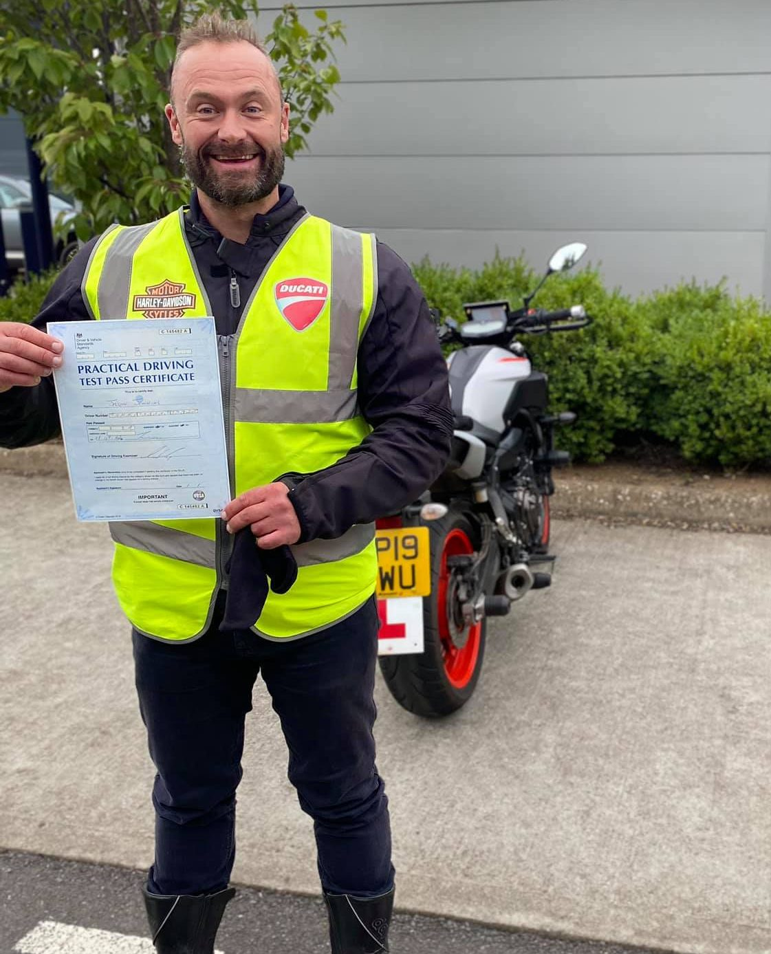 Jason From Wellington With First Time DAS Mod2 Pass