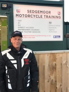 Keith Rummer Motorcycle Trainer at Sedgemoor Motorcycle Training Somerset