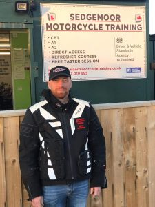 Kevin Billing Motorcycle Instructor at Sedgemoor Motorcycle Training in Bridgwater