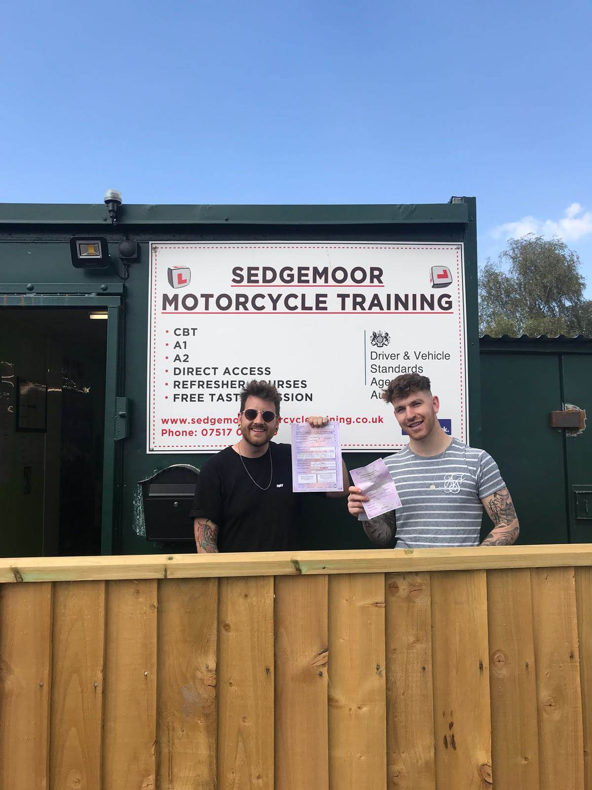 Mod 1 and CBT Success at Sedgemoor Motorcycle Training