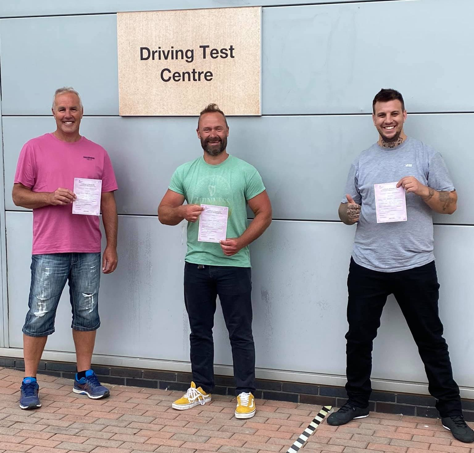 motorcycle test passes