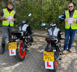 Motorcycle Tests Passed Zero Minors