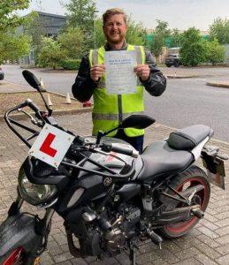 Bristol and Bridgwater Riders Mod1 Success