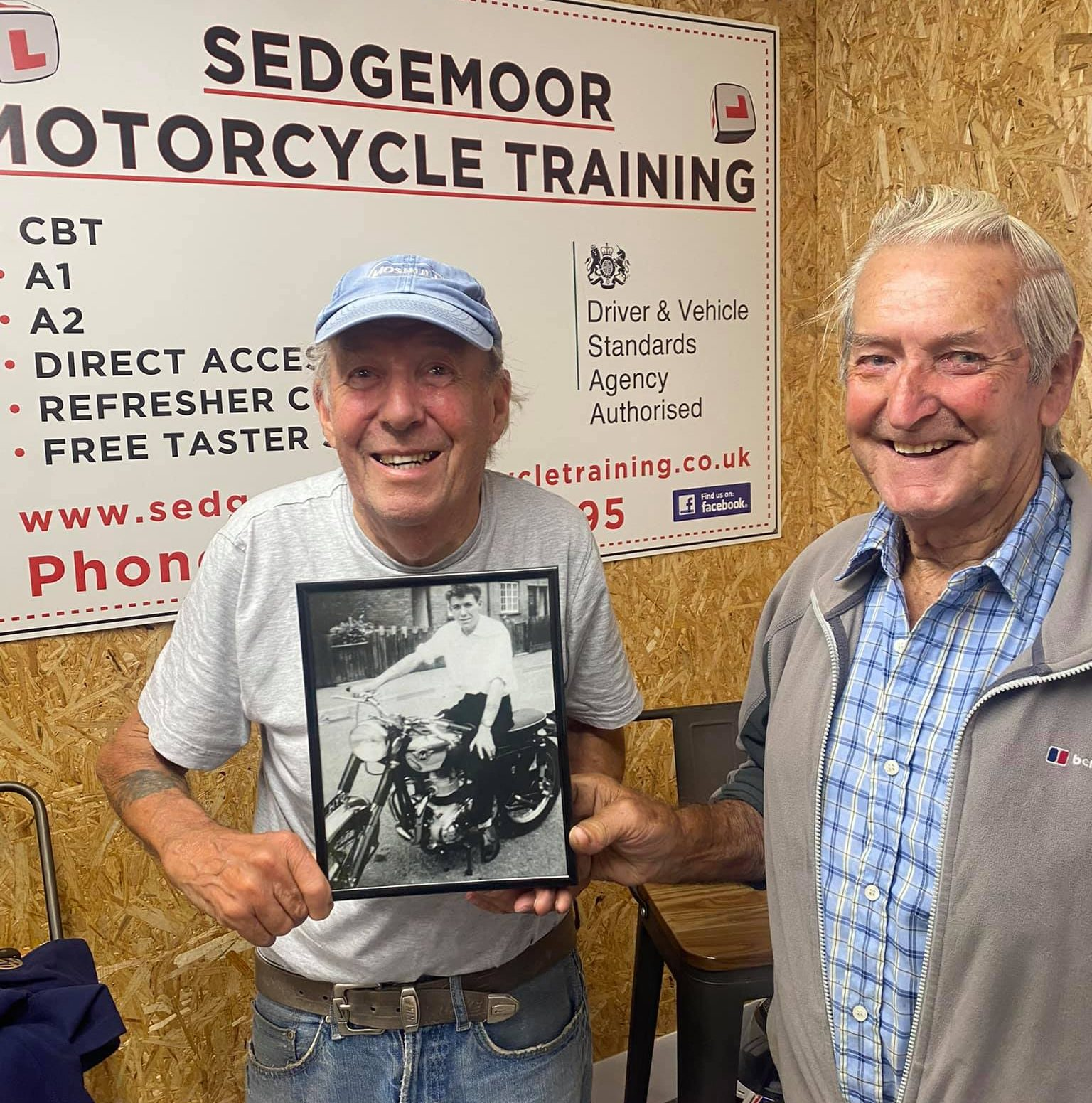 Respect for the Senior Riders