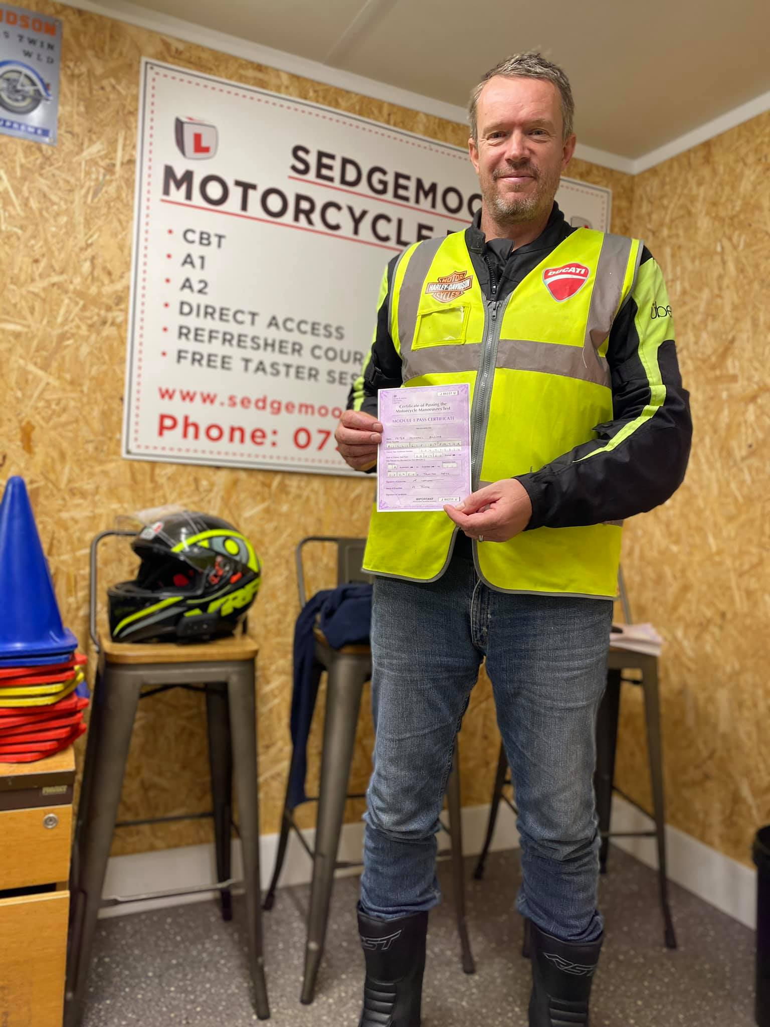 Peter from Frome Passes Module 1