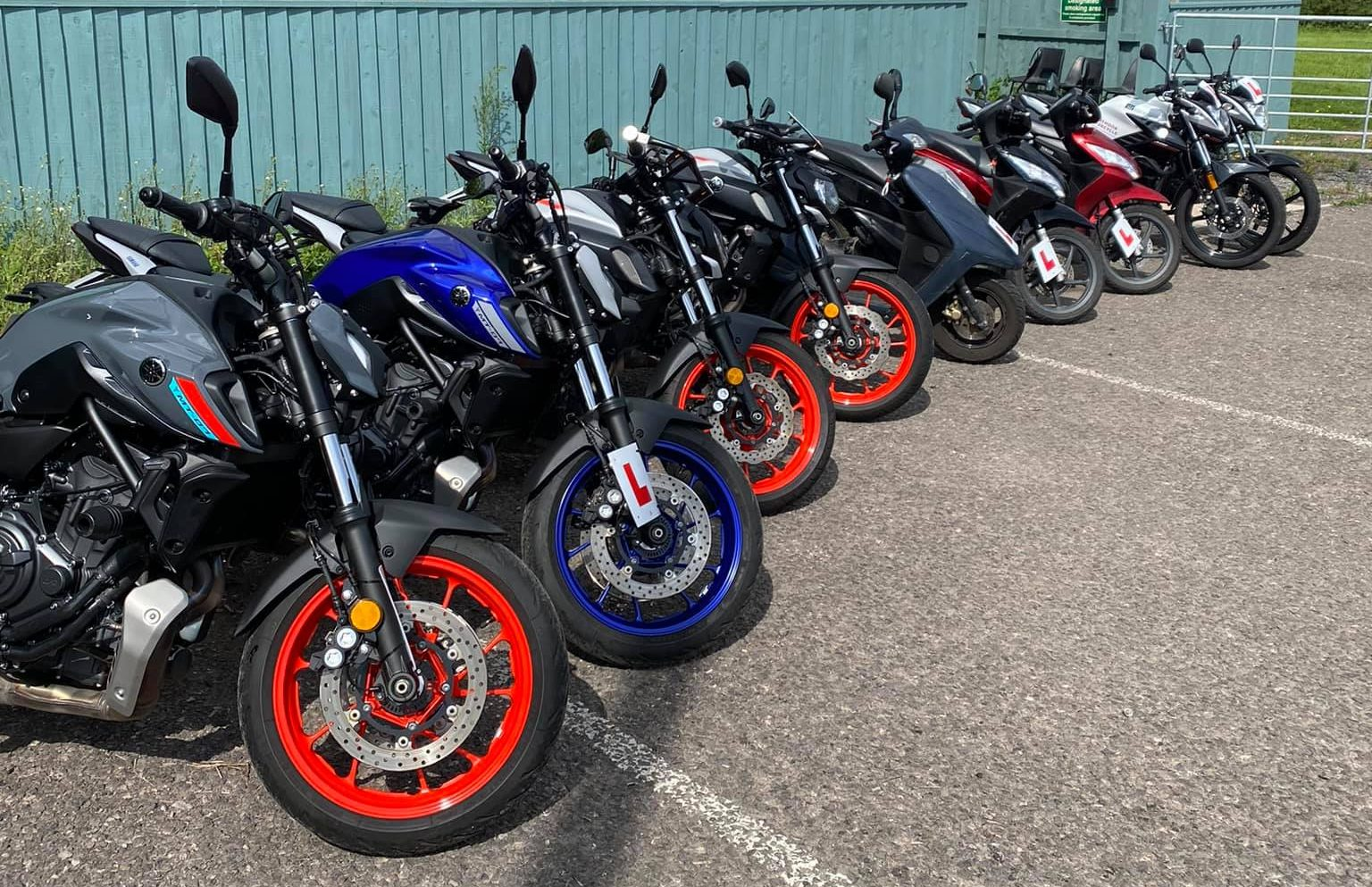 Motorbikes Cleaned & Adjusted for Customers